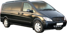 Tours of London and the UK. Chauffeur driven, top of the Range Mercedes Viano people carrier (MPV)