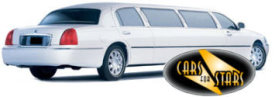 Limo Hire London - Cars for Stars (North London) offering white, silver, black and vanilla white limos for hire