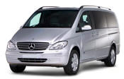 Chauffeur driven Mercedes Viano people carrier - Up to 7 passengers in comfort, from Cars for Stars (North London) - Airport Transfer Services